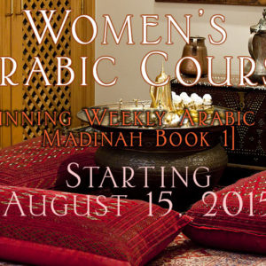 Beginning-Weekly-Arabic-Class--Madinah-Book-1